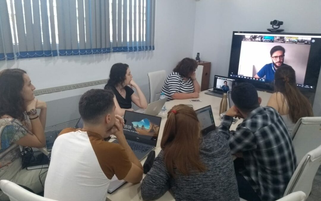 Launch of International Virtual Classrooms